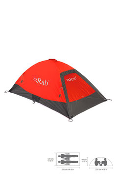 Rab MR-54 Latok Summit / Signal Orange