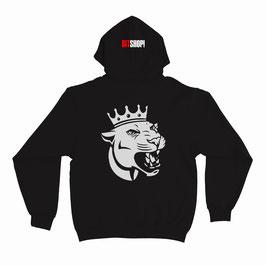 Комплект парных толстовок лев с короной + львица с короной (2490х2)