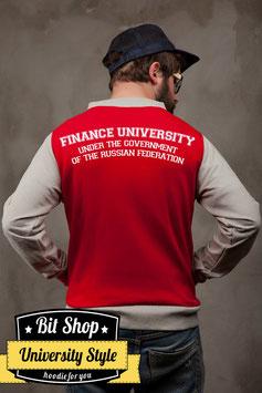 Бейсбольная куртка |  Финансовый университет при правительстве Российской Федерации ( Под заказ)