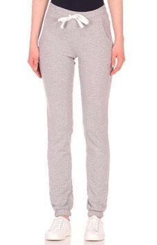 Женские спортивные штаны - серые (высокая талия)
