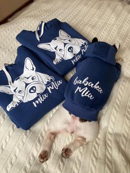 Одежда для собак I Толстовка c капюшоном