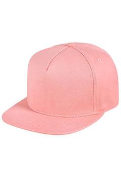 Пятипанельная однотонная хлопковая     светло-розовый