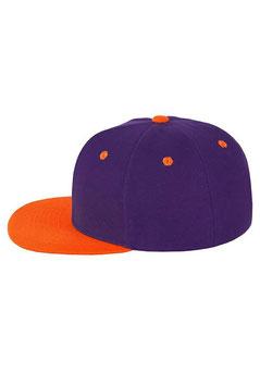 Шестипанельная двухцветная акриловая    фиолетовый с оранжевым козырьком