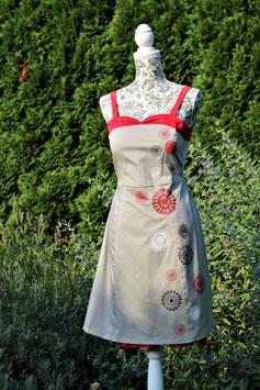 """Kleid """"Sophia"""" handbedruckt"""