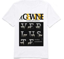 """T-Shirt """"Gewinne und Verluste"""""""