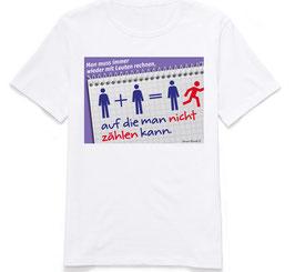 """T-Shirt """"Rechnen"""""""