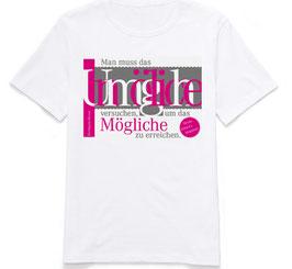 """T-Shirt """"Unmögliches"""""""