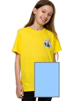 T-Shirt Kind, hellblau
