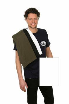 T-Shirt Mann, weiß
