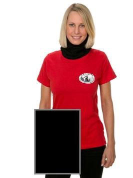 T-Shirt Frau, schwarz