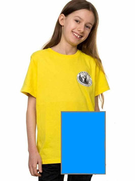 T-Shirt Kind, blau