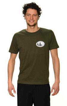 T-Shirt Mann, olive