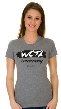 T-Shirt Frau, grau Family Camp