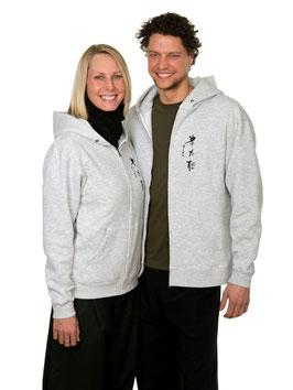 Zip-Sweatshirt mit Kapuze