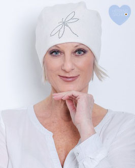 LOUISE – Beanie in wollweiß