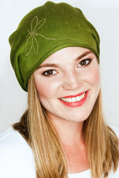 LOUISE – Beanie in olive
