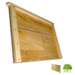 Diaframma in legno lamellare paraffinato