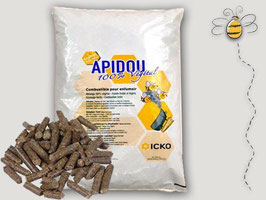 APIDOU Natural  combustibile vegetale per affumicatore