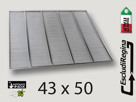 Escludiregina in acciaio 43X50 senza cornice