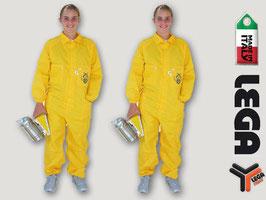 Tuta gialla apicoltore senza maschera