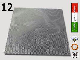 Rete inox per fondo antivarroa senza cornice arnia da 12