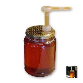Dosatore per miele TrasparentPro su capsula da 500 e 1000 gr.