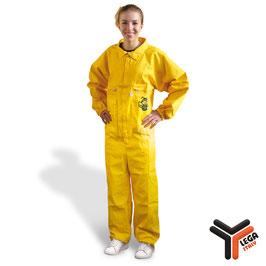Tuta gialla apicoltore senza maschera Lega