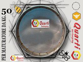 Filtro in acciaio inox quarti per maturatore 50 kg.