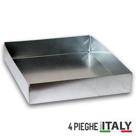 Tetto a scatola 4 pieghe in lamiera zincata | stock 5 pezzi