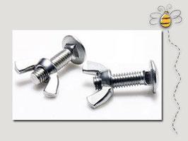 Set viti in acciaio inox per ergorubinetto
