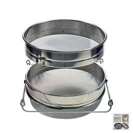 Filtro per miele regolabile in acciaio