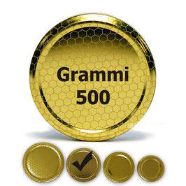 Capsula per vaso da 500 grammi (100 pezzi)
