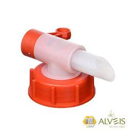 Apifor60 Tappo dosatore con rubinetto T-FOR