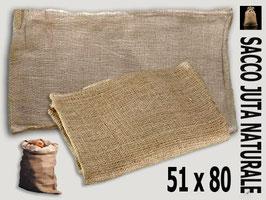 Sacco in Juta naturale 51 x 80
