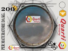 Filtro in acciaio inox quarti per maturatore 200 kg.