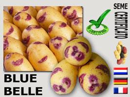 Blue Belle la patata che sorride