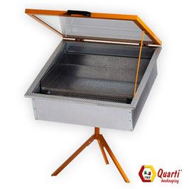 Sceratrice solare Quarti per 4 telaini