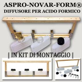 """Aspro-Novar-Form"""" Evaporatore per Acido Formico"""" in kit di montaggio"""