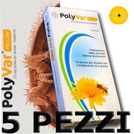 OFFERTA Polyvar Yellow® x 5 confezioni da 10 strisce