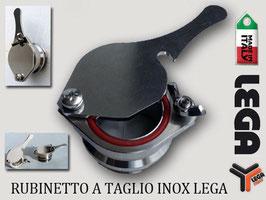 Rubinetto a taglio in acciaio Inox ø 50mm  Lega