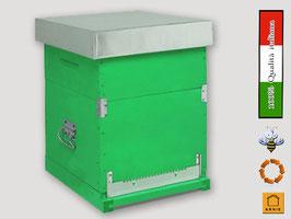 Arnia a cubo (stanziale) 10 telaini NIDO + MELARIO