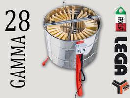 Smelatore radiale  28 telaini - Flamingo inox, trasm. mot. 'Gamma'