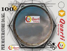 Filtro in acciaio inox quarti per maturatore 100 kg.
