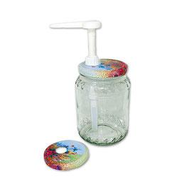 Dosatore per miele ColorPro su capsula da 500 e 1000 gr.
