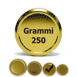 Capsula per vaso da 250 grammi (100 pezzi)