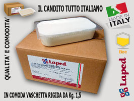 "Candito di qualità ""LAPED"" made in Italy"