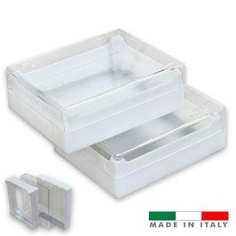 Favetto con scatola trasparente x 2 pezzi