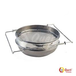 Filtro in acciaio inox con filtro a bracci estensibili QUARTI