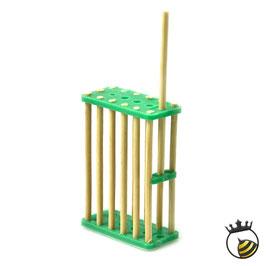 Gabbietta in bamboo per blocco covata