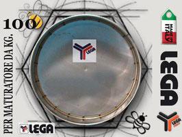 Filtro in acciaio inox lega per maturatore 100 kg.
